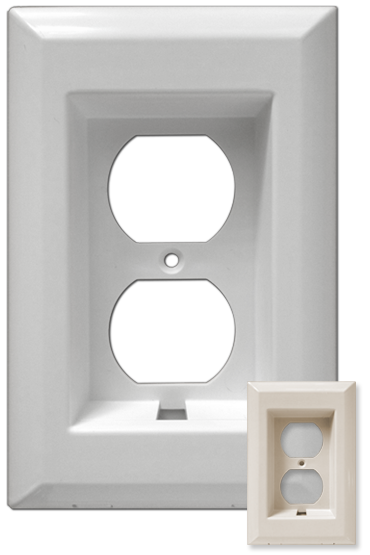 The Cordini Large Recessed - White/Ivory Versions